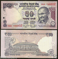 ★ Rs.50/- Raghuram Rajan 'E' Inset 2016 ~ Telescopic ~ UNC ~ Starting 786 ★ bb85