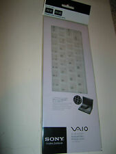 SONY VGP-AMKBL14/W VAIO FLIP PC LAPTOP KEYBOARD PROTECTOR SKIN, WHITE
