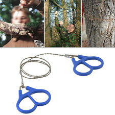 Outdoor Hiking Camping Stainless Steel Wire Saw Emergency Travel Survival Gear