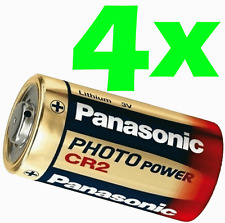 (Pack of 4) Panasonic Ultra CR2 DL-CR2 3V Photo Lithium Battery 2024