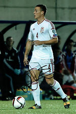 James CHESTER Signed Autograph 12x8 Football Wales Photo AFTAL COA Hull City