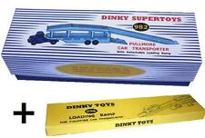DINKY Reproduction Box 982 Pullmore Car Transporter (582) b