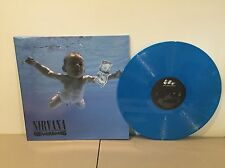 NIRVANA - NEVERMIND -180 GRAM BLUE COLORED VINYL LP - BRAND NEW EU IMPORT