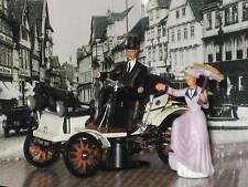 OPEL Lutzmann 1899 blanc avec 2 personnages 1:43 vitesse NOUVEAU & OVP