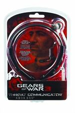 NEW Factory Sealed GEARS of WAR 3 Throat Communicator for Xbox 360 From MAD CATZ