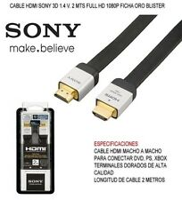 Sony Pro 2M High Speed HDMI Cable 1.4V 3D LCD LED HDTV PS3 PS4 TV Xbox DLCHE20HF
