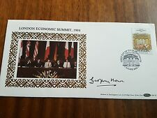 Geoffrey Howe MP Signed FDC