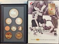 1997 Silver Set 8 Coins Winning Goal in the Canada Russia World Hockey 1972