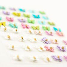 3D En couleur Papillons pour carte Embellissements Scrapbooking Loisirs créatifs