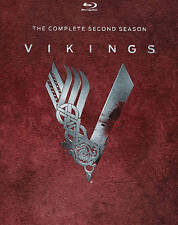 Vikings: The Complete Second Season (Blu-ray Disc, 2014, 3-Disc Set)