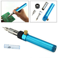 1300°C Butane Gas Blow Torch Solder Iron Gun Cordless Woolelding Pen Burner New