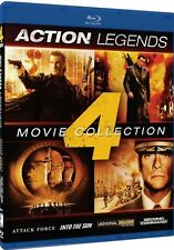 ACTION LEGENDS 4 MOVIE COLLECTION New Blu-ray Steven Segal Jean Claude Van Damme