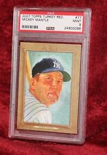 Mickey Mantle - 2007 Topps Turkey Red #77 - PSA 9 (Mint)