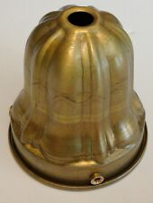 Solid brass 2 1/4 inch fitter lamp Sheffield style shade holder