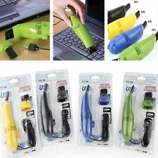 For Laptop Mini USB Dust PC Vacuum Cleaner Cleaning Brush Keyboard