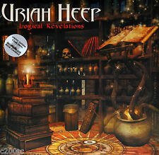 URIAH HEEP - LOGICAL REVELATIONS, 2015 UK LIMITED EDN CLEAR vinyl 2LP, SEALED!