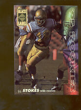 1994 CE Black Label J.J. STOKES San Francisco 49ers Rookie Insert Card