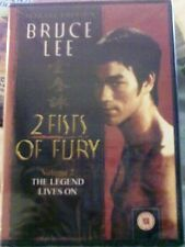 BRUCE LEE 2 FISTS OF FURY VOLUME 2 THE LEGEND LIVES ON DVD (SEALED)