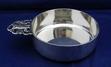 old sterling TIFFANY & CO. OWL HANDLE PORRINGER