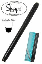 Sherpa #7965 Black Ball Point Pen Holder with Conductive Stylus
