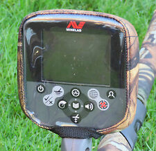 CONTROL BOX COVER TO FIT MINELAB CTX  -METAL DETECTOR- CAMO NEOPRENE