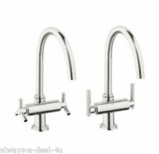 Grohe 31001 BEO Sterling Chrome Atrio High-arch Kitchen Faucet