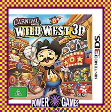 Carnival Games Wild West 3D (Nintendo 3DS 2DS 3DS XL) Brand New