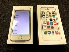 IN BOX Apple iPhone 5s - 16GB - Silver (Factory Unlocked) Smartphone N.O A+