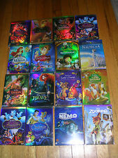 Disney DVD Lot:  8 Movies - Beauty Beast, Snow White, Cinderella  & More