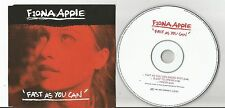 Fiona Apple - Fast As You Can / Sleep to Dream / I Know CD EP EX condition D