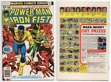 POWER MAN & IRON FIST #50 1ST TEAM UP JOINING! HERO FOR HIRE LUKE CAGE MARVEL