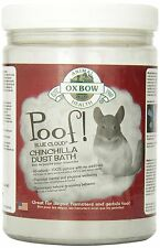 Oxbow Animal Health Poof Blue Cloud Dust for Chinchilla Bath, 2.5-Pound [448114]