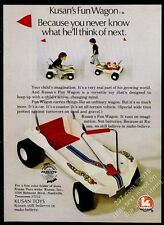 1972 Kusan Toys Fun Wagon dune buggy photo vintage print ad
