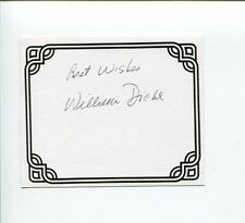 William Diehl Primal Fear Sharky's Machine Author Signed Autograph Bookplate