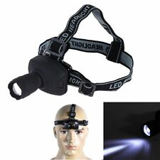 Outdoor CREE Q5 LED Stirnlampe 1000LM 3-Modi Zoomable Kopflampe Fahrrad Headlamp