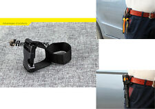 Lomon Belt Camping Mountaineering Tool Flaslight Mount Holder Hook for Torch