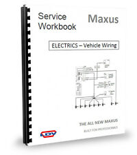 LDV Maxus Van Wiring Diagram & ELECTRICS 2.5CDi 05