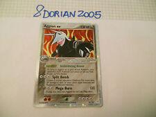 POKEMON CARDS: 1x TCG HOLO Aggron EX-Guardiani dei Cristalli-Rara-89/100-ING x1