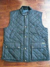 NWT $225 POLO RALPH LAUREN BLACK VEST  SZ XL