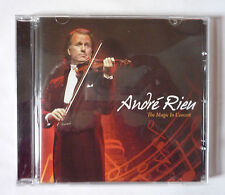 ANDRE RIEU - THE MAGIC IN CONCERT 2010 CD ALBUM - VERY GOOD CONDITION