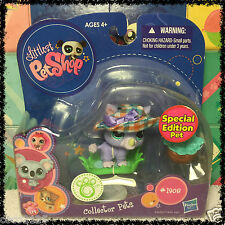 NEW Littlest Pet Shop Rhino Special Edition Collectors Pet #1908 w/ 1 FREE PET
