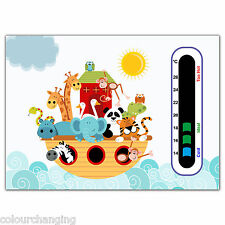 Baby Safe Ideas Noah and the Animal Ark Baby and Child Nursery Room Thermometer