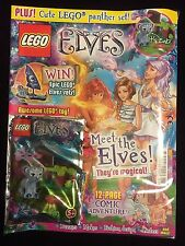 Rare Lego Elves First 3 Magazine Issues #1,2,3 Unread MIB With Toys