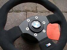 Sportlenkrad RAID Wildleder +Nabe BMW 3er E30 Cabrio Touring 3/1 3/R M3 5er 7er