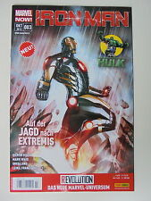 1x Comic - Iron Man/Hulk Nr. 3 - Marvel Now! - Panini - Zustand 1