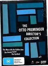 The Otto Preminger Director's Collection (DVD, 2007, 3-Disc Set)-REGION 4