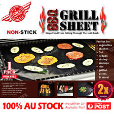 2xThe Best BBQ Grill Mats Perfect for Grilling Steak, Chicken, Burgers, Kabobs,