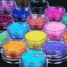 24 Color Metal Shiny Glitter Powder Dust UV/Acrylic Nail Art Tips Decoration Kit
