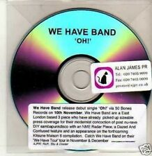 (438M) We Have Band, OH! - DJ CD
