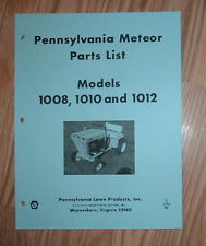PANZER 1008, 1010 & 1012 TRACTOR  ILLUSTRATED PARTS LIST